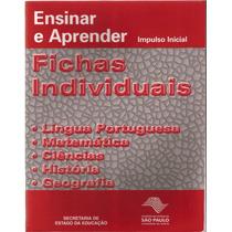 Ensinar E Aprender Impulso Inicial Fichas Individuais