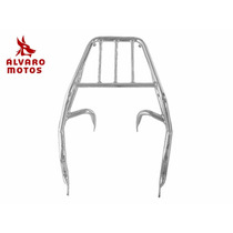Bagageiro Honda Biz 125 11/15 Biz 100 2014 Cromado Chapam