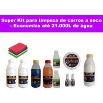 Super Kit De Produtos Para Lavagem A Seco De Carro Saori