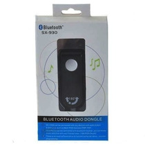 Transmissor Audio Bluetooth Stereo Híbrido C/ Plug P2 3.5mm