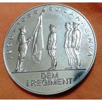 Medalha Moeda 30 Anos Do 1º Regimento Exército Alemanha