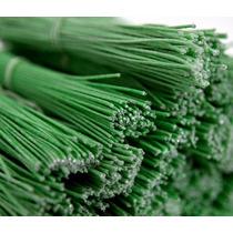 Arame Encapado Verde 10 Maços Com 100 Unidades Cada