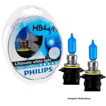 Lâmpada Super Branca Philips Diamond Vision Hb4 - 5000k