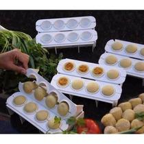 Forma Fábrica Coxinhas Salgados Kit Modelador Massas Festas