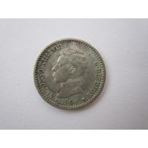 Espanha Moeda Prata 50 Centimos 1904