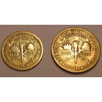 Moedas De 1922, 500 E 1000 Reis, Centenário Da Independencia