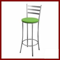 Banco Banqueta Cadeira De Bar Em Aço Cores Variadas!!!!!