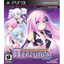 Hyperdimension Neptunia Mk2 Ps3 - E-sedex Ou Pac
