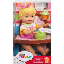 Boneca Little Mommy Momentos Do Bebe Dar De Comer Melancia M