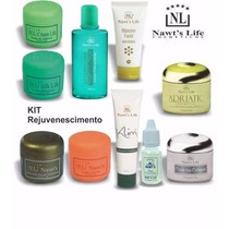 Kit Limpeza De Pele Rejuvenescimento Facial 10 Produtos