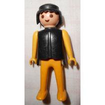 Playmobil Lote Com 3 Bonecos Preto/amarelo Trol - 3 Homens