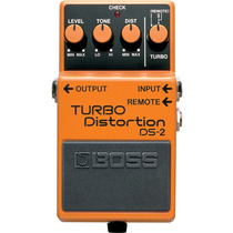 Pedal Boss Ds2 Guitarra Distorção Boss Turbo Distortion Ds2