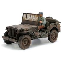 Jeep Willys 1/4 Ton Army Truck 1:18 Welly (c/ Soldado)