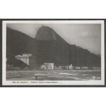 Postal Antigo Copacabana Palace Hotel Rio De Janeiro