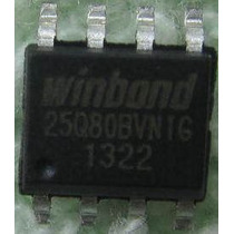 Ci Chip Eprom Winbond 25q80bvnig Para Bios - Gravamos