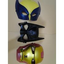 Mascaras Vingadores Infantil Volverine Homem De Ferro Batman