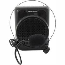 Amplificador Megafone Kit Professores Palestrantes 20w