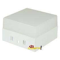 Painel Plafon Led 6w Externo Branco Frio Quadrado Luminária