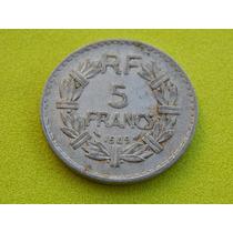 Moeda Da França De 1949 - 5 Francs (ref 55)