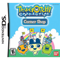 Jogo Nintendo Ds Tamagotchi Connection Corner Shop Original