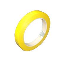 Fita Poliéster Transparente / Amarelo 12mmx66mts