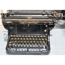 Antiga Rara Máquina De Escrever Continental