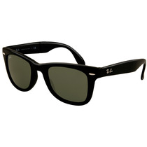 Ray Ban Wayfarer Folding Dobravel Rb4105 601-s Preto Fosco