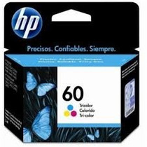 Cartucho Hp 60 Preto + 60 Color Originais