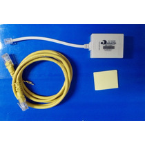 Kit Filtro Adsl Duplo E Cabo De Rede Internet Rj45 1,5metro!