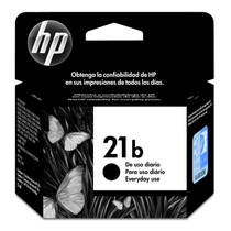 Cartucho Hp 21b Preto C9351bb Original 7ml 1250 3180 Psc1410