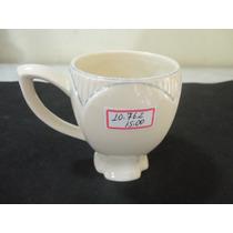 #10762 - Caneca Café Porcelana Decorada, Importada!!!