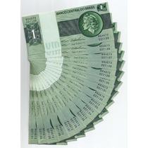 036 Cdl- Brasil Lote Com 17 Cédulas- Cr$.1,00 Cruzeiro 1970