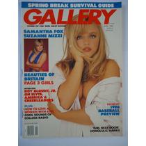 Revista Erótica Gallery Importada Abril De 1990