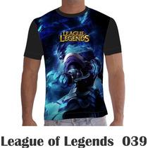 Camisa Camiseta Tresh League Of Legends Lol 039