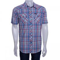 Camisa Xadrez Masculina Lee Kenny Western 66ar84840