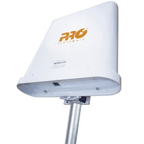 Cpe-wireless Station 2.4 Ghz Com Antena Acoplada De 17 Dbi