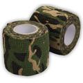 Fita Tecido Camuflagem Woodland Airsoft Paintball Armas