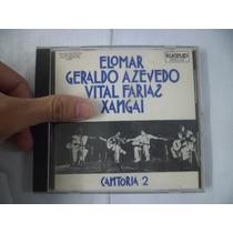 Cd Nacional - Elomar, Geraldo, Vital, Xangai - Cantoria 2