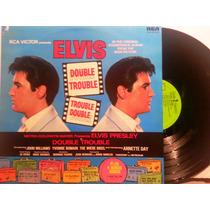 Lp Vinil Elvis Presley Double Trouble Inglês