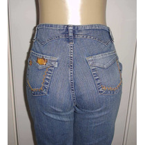 Calça Capri Jeans Feminina Marca Graffix Tam.40 C/strech #x