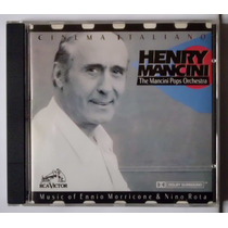 Cd Original Cinema Italiano Henry Mancini Trilha Sonora