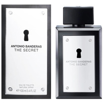 Perfume The Secret 100ml Antonio Banderas Made Spain Lacrado