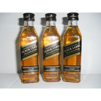 Kit Com 10 Miniatura Whisky Johnnie Walker Black Label