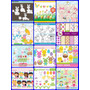 35 Kits Scrapbook Digital Pascoa Coelhos E Ovos Frete Gratis
