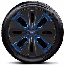Calota Jogo 4pçs New Fiesta Focus Aro15 Ford P08bbj