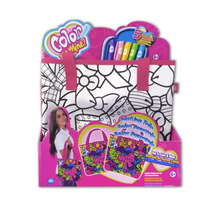 Bolsa Passarela Fashion Tote Cife - Color Me P/ Colorir