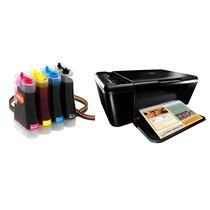 Bulk Ink Para Impressora Hp F4480 Com Anti Refluxo