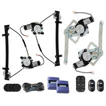 Kit Vidro Elétrico Escort Zetec 4 Portas Sensorizado
