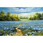 Painel Grande Hd 80x120cm Decorar Arte Pintura Tela Paisagem