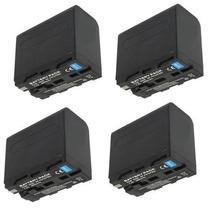 4 Baterias Np-f960 P/sony Hvr-hd1000 Pd170 Vx2000 Z1 Fx1 Z5